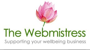 The Webmistress of Bath - wellbeing business web design